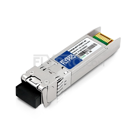 Picture of Brocade C61 10G-SFPP-ZRD-1528.77 Compatible 10G DWDM SFP+ 100GHz 1528.77nm 40km DOM Transceiver Module
