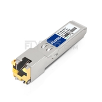 Picture of Brocade E1MG-100FX-T Compatible 100BASE-T SFP Copper RJ-45 100m Transceiver Module