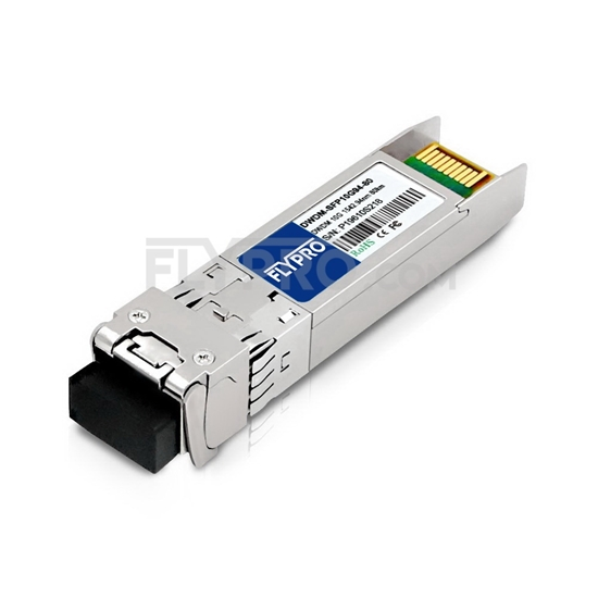 Picture of Juniper Networks C43 SFPP-10G-DW43 Compatible 10G DWDM SFP+ 100GHz 1542.94nm 80km DOM Transceiver Module