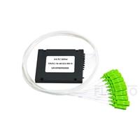 صورة مجزئ فايبر 1x16 PLC أحادي Splice/Pigtailed ABS Module, 900μm, SC/APC