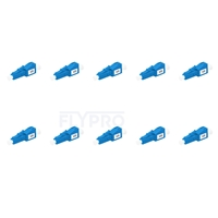 Picture of LC/UPC Single Mode Fixed Fiber Optic Attenuator, Male-Female, 1dB (10pcs/Pack)
