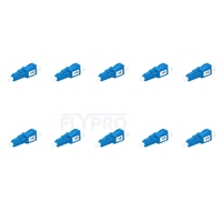 Picture of LC/UPC Single Mode Fixed Fiber Optic Attenuator, Male-Female, 3dB (10pcs/Pack)