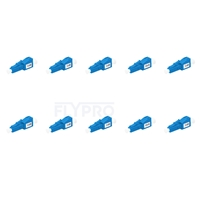 Picture of LC/UPC Single Mode Fixed Fiber Optic Attenuator, Male-Female, 12dB (10pcs/Pack)