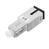 Picture of SC/UPC Single Mode Fixed Fiber Optic Attenuator, Male-Female, 6dB