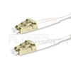 Picture of 1m (3ft) LC UPC to LC UPC Duplex OM4 Multimode PVC (OFNR) 2.0mm Fiber Optic Patch Cable