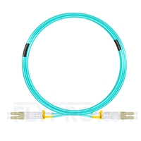 Bild von 10m (33ft) LC UPC to LC UPC Duplex OM4 Multimode LSZH 2.0mm Fiber Optic Patch Cable