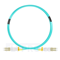 Bild von 3m (10ft) LC UPC to LC UPC Duplex OM4 Multimode LSZH 2.0mm Fiber Optic Patch Cable