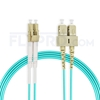 Picture of 7m (23ft) LC UPC to SC UPC Duplex 3.0mm LSZH OM4 Multimode Fiber Optic Patch Cable