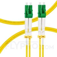 Bild von 2m (7ft) LC APC to LC APC Duplex 2.0mm OFNP 9/125 Single Mode Fiber Patch Cable