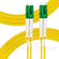 Picture of 10m (33ft) LC APC to LC APC Duplex 3.0mm PVC (OFNR) 9/125 Single Mode Fiber Patch Cable
