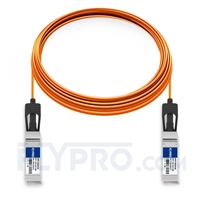 Picture of 25m (82ft) Arista Networks AOC-S-S-10G-25M Compatible 10G SFP+ Active Optical Cable