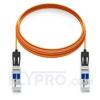 Picture of 10m (33ft) Brocade 10GE-SFPP-AOC-1001 Compatible 10G SFP+ Active Optical Cable