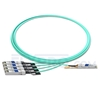 Picture of 3m (10ft) Arista Networks QSFP-4X10G-AOC3M Compatible 40G QSFP+ to 4x10G SFP+ Breakout Active Optical Cable