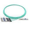 Picture of 7m (23ft) Arista Networks QSFP-4X10G-AOC7M Compatible 40G QSFP+ to 4x10G SFP+ Breakout Active Optical Cable