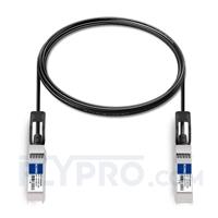 Picture of 2.5m (8ft) Dell Force10 CBL-10GSFP-DAC-2.5M Compatible 10G SFP+ Passive Direct Attach Copper Twinax Cable
