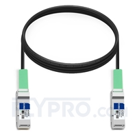 Picture of 3m (10ft) Cisco QSFP-H40G-CU3M Compatible 40G QSFP+ Passive Direct Attach Copper Cable