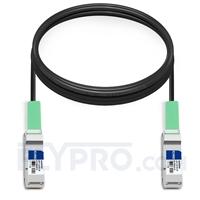 Picture of 5m (16ft) Cisco QSFP-H40G-CU5M Compatible 40G QSFP+ Passive Direct Attach Copper Cable