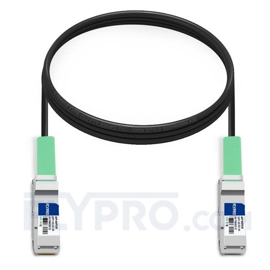 Picture of 3m (10ft) D-Link DEM-CB300QXS Compatible 40G QSFP+ Passive Direct Attach Copper Cable