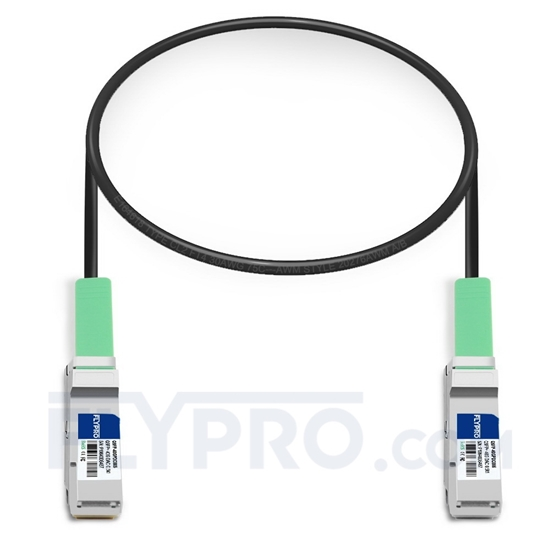 Picture of 0.5m (2ft) HUAWEI QSFP-40G-CU50M Compatible 40G QSFP+ Passive Direct Attach Copper Cable