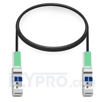 Picture of 1m (3ft) IBM BN-QS-QS-CBL-1M Compatible 40G QSFP+ Passive Direct Attach Copper Cable