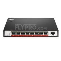 Bild von 10/100M 9 Ports Unmanaged PoE Switch