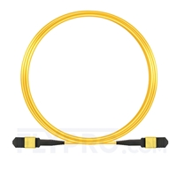 Picture of 10m (33ft) Senko MPO Female 12 Fibers Type B LSZH OS2 9/125 Single Mode Elite Trunk Cable, Yellow