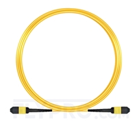 Picture of 10m (33ft) MPO Female 12 Fibers Type B LSZH OS2 9/125 Single Mode Elite Trunk Cable, Yellow