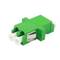 Bild von LC/APC auf LC/APC Duplex Singlemode LWL-Adapter/Führungshülse aus Kunststoff mit Flansch