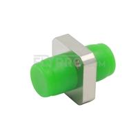 Bild von FC/APC auf FC/APC Simplex Singlemode Square Solid Typ Ein Stück LWL-Adapter/Führungshülse aus Metall mit Flansch