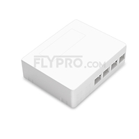 Picture of 4 Ports FTB-104B-S Wall Mounted Fiber Terminal Box as Distribution Box Without Pigtails and Adapters