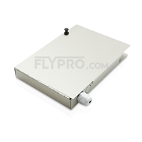 Picture of 8 Ports FTB-108 Wall Mounted Fiber Terminal Box Without Pigtails and Adapters