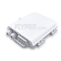 Picture of 1x8 PLC Blockless Fiber Splitter Outdoor Distribution Box Without Pigtails and Adapters