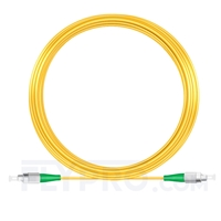 Picture of 20M(66ft)1550nm FC APC Simplex Slow Axis Single Mode PVC-3.0mm (OFNR) 3.0mm Polarization Maintaining Fiber Optic Patch Cable