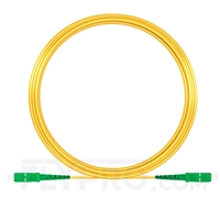 Picture of 15M(49ft)1550nm SC APC Simplex Slow Axis Single Mode PVC-3.0mm (OFNR) 3.0mm Polarization Maintaining Fiber Optic Patch Cable