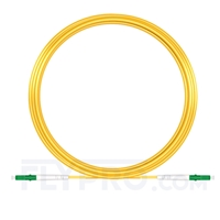 Picture of 15M(49ft)1550nm LC APC Simplex Slow Axis Single Mode PVC-3.0mm (OFNR) 3.0mm Polarization Maintaining Fiber Optic Patch Cable