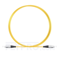 Bild von 1M(3ft)1550nm FC UPC Simplex Slow Axis Single Mode PVC-3.0mm (OFNR) 3.0mm Polarization Maintaining Fiber Optic Patch Cable