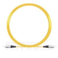 Bild von 10M(33ft)1550nm FC UPC Simplex Slow Axis Single Mode PVC-3.0mm (OFNR) 3.0mm Polarization Maintaining Fiber Optic Patch Cable