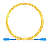 Bild von 10M(33ft)1550nm SC UPC Simplex Slow Axis Single Mode PVC-3.0mm (OFNR) 3.0mm Polarization Maintaining Fiber Optic Patch Cable