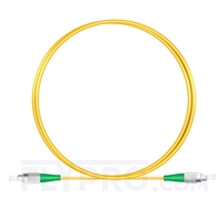 Picture of 1M(3ft)1310nm FC APC Simplex Slow Axis Single Mode PVC-3.0mm (OFNR) 3.0mm Polarization Maintaining Fiber Optic Patch Cable