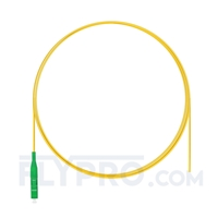 Picture of 1m (3ft) LC APC Simplex OS2 Single Mode PVC (OFNR) 0.9mm Fiber Optic Pigtail