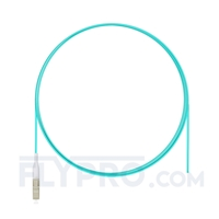 Picture of 1m (3ft) LC UPC Simplex OM3 Multimode LSZH 0.9mm Fiber Optic Pigtail