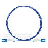 Bild von Gepanzertes LWL-Patchkabel, 1m (3ft) LC UPC auf LC UPC Duplex Stecker, Singlemode PVC (OFNR)
