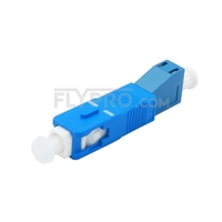 Picture of LC Female to SC Male Simplex Single Mode Fiber Optic Adapter/Mating Sleeve