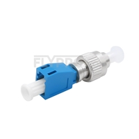Picture of LC Female to FC Male Simplex Single Mode Fiber Optic Adapter/Mating Sleeve