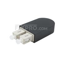 Bild von SC/UPC Duplex PVC OM4 50/125 Multimode LWL-Loopback-Modul