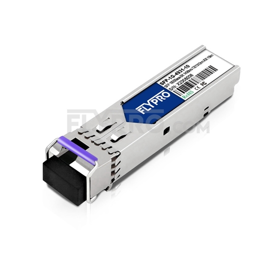 Picture of Planet MGB-LA10 Compatible 1000Base-BX SFP 1490nm-TX/1310nm-RX 10km SMF(LC Single) DOM Optical Transceiver
