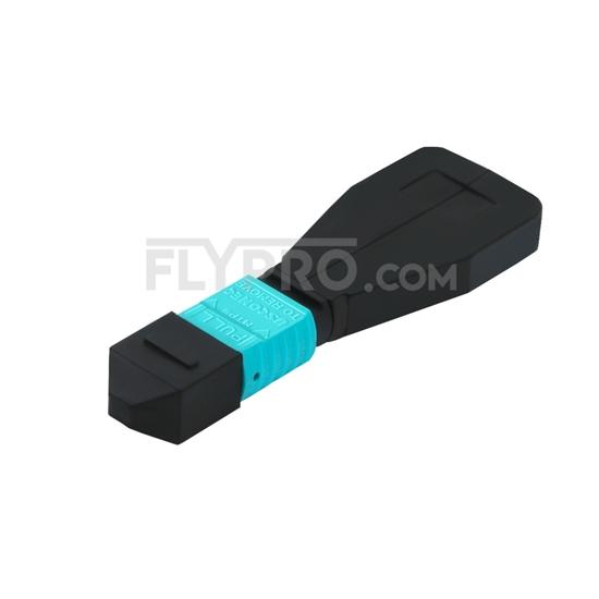 Picture of 12 Fibers MTP®/MPO Female Type 1 OM4 50/125 Multimode Fiber Loopback Module