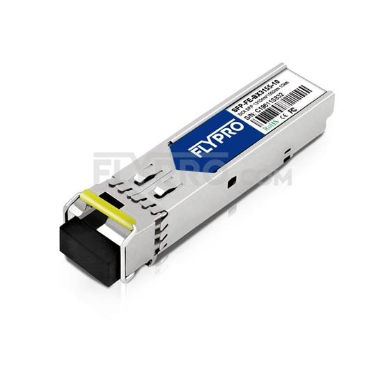 Picture of HPE (HP) J9100B Compatible 100BASE-BX-U BiDi SFP 1310nm-TX/1550nm-RX 10km DOM Transceiver Module