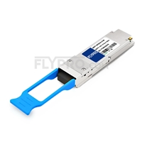 Picture of Fortinet FG-TRAN-QSFP+ER Compatible 40GBASE-ER4 and OTU3 QSFP+ 1310nm 40km LC DOM Transceiver Module
