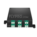 Picture of MPO-12 to 6x LC Duplex, Type AF, 12 Fibers OM3 Multimode FHD MPO Cassette